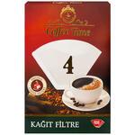 Coffee Time Filtre Kahve Kağıdı 4 Numara 100'lü