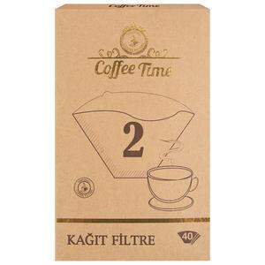 Coffee Time Filtre Kahve Kağıdı 2 Numara 40'lı