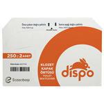 Dispo Klozet Kapak Örtüsü 250'li Paket