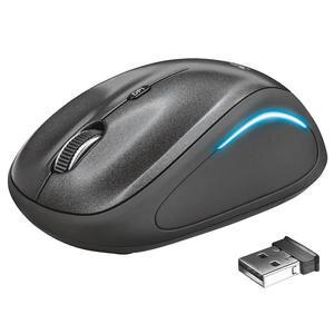 Trust 22333 Yvi FX Kablosuz Mouse Siyah