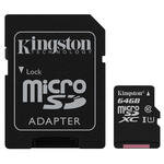 Kingston SDCS/64GB Canvas Select 64 GB Class10 Micro SD Kart