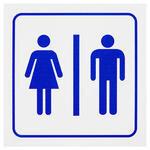 Bay & Bayan WC PVC Dekota Uyarı Levhası P2A-02126