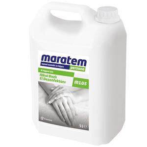 Maratem M105 Alkol Bazlı El Dezenfektanı 5 lt