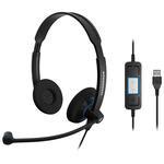 Sennheiser SC 60 USB CTRL Çift Taraflı Çağrı Kulaklığı