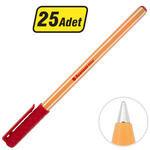 Avansas Office Tükenmez Kalem 1 mm Uçlu Kırmızı 25'li Paket