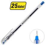 Avansas Tick Tükenmez Kalem 0.7 mm Uçlu Mavi 25'li Paket