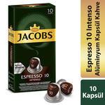 Jacobs Espresso 10 Intenso Kapsül Kahve 10'lu