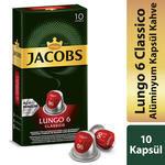 Jacobs Lungo 6 Classico Kapsül Kahve 10'lu