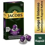 Jacobs Lungo 8 Intenso Kapsül Kahve 10'lu