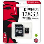 Kingston SDCS/128GB Canvas Select 128 GB Class10 Micro SD Kart
