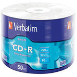 Verbatim 43787 CD-R Wrap Extra Protection 52X 700 MB 50'li Paket