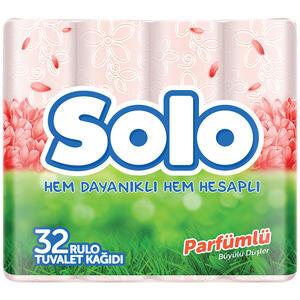 Solo Tuvalet Kağıdı Parfümlü 32'li Paket
