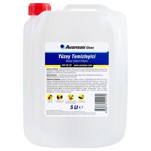 Avansas Clean Beyaz Sabun Kokulu Yüzey Temizleyici 5 kg