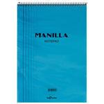 Le Color Manilla Notepad Bloknot Çizgili A5 Mavi 70 Yaprak