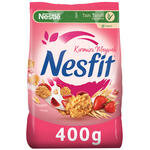 Nestle Nesfit Kırmızı Meyveli Tam Tahıl ve Pirinç Gevreği 400 gr