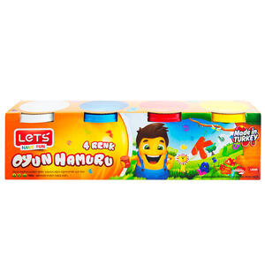 Lets L8340 Oyun Hamuru 4 Renk