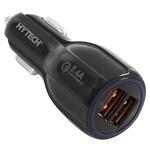 Hytech HY-XQ50 5.4A Quick Charge 2 USB Portlu Araç Şarj Cihazı Siyah