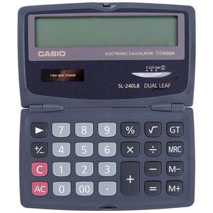 Casio SL-240LB Cep Tipi Hesap Makinesi 14 Haneli | Avansas