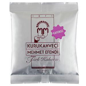 Kurukahveci Mehmet Efendi Kafeinsiz Türk Kahvesi Poşet 50 gr