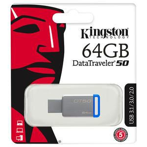 Kingston DT50 64 GB USB 3.1 USB Bellek