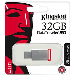 Kingston DT50 32 GB USB 3.1 USB Bellek