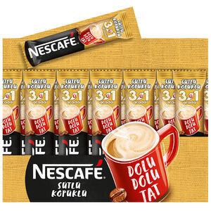 Nescafe 3'ü 1 Arada Sütlü Köpüklü 17,5 gr 72'li Paket