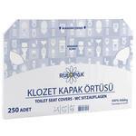 Rulopak R-2613 Klozet Kapak Örtüsü 250'li Paket