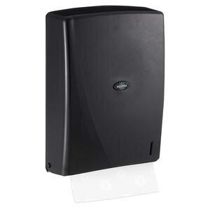 Rulopak R-1312 Modern Z Katlama Havlu Dispenseri Siyah 400'lü