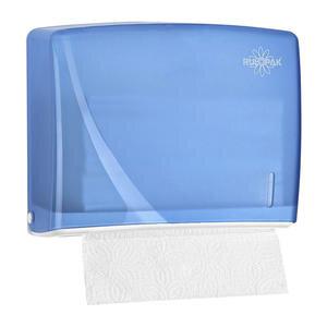 Rulopak R-1317 Modern Z Katlama Havlu Dispenseri Transparan Mavi 200'lü