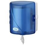 Rulopak R-1302 İçten Çekmeli Kağıt Havlu Dispenseri Transparan Mavi