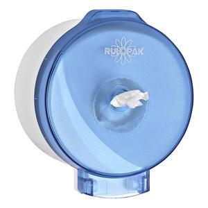 Rulopak R-3015 Modern Cimri İçten Çekmeli Tuvalet Kağıdı Dispenseri Transparan Mavi