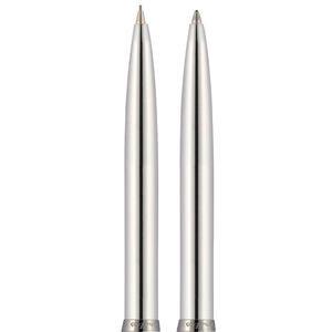 Scrikss 108M Prestij Paslanmaz Çelik Tükenmez Kalem + Versatil Kalem
