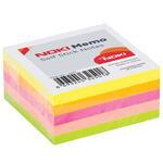 Noki Memo 12337 Yapışkanlı Not Kağıdı 50 mm x 50 mm Neon Karışık Renk 250 Yaprak