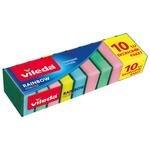 Vileda Rainbow Düz Sünger 10'lu Paket