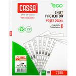Cassa A4 Eco Delikli Şeffaf Poşet Dosya 100'lü Paket