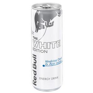 Red Bull Enerji İçeceği White Edition Kutu 250 ml