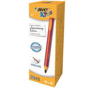 Bic Kids Evolution 919263 Üçgen Jumbo Kurşun Kalem Pembe 12'li Paket
