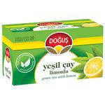 Doğuş Yeşil Çay Limonlu 20'li Paket