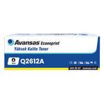 Avansas Econoprint HP 12A Siyah Muadil Toner Q2612A