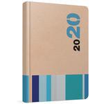 Gıpta 139BIK Ciltli 2020 Günlük Çizgili Ajanda Karışık Renkli 13 cm x 21 cm 168 Yaprak