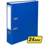 Avansas Extra Plastik Klasör Geniş A4 Mavi 1 Koli (24 Klasör)
