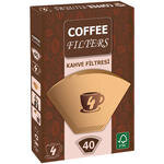 Coffee Filters Filtre Kahve Kağıdı 4 Numara 40'lı