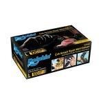 Dolphin Çok Amaçlı Nitril Eldiven Siyah Large 100'lü Paket