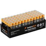 Battery Tech Süper Alkalin AAA İnce Kalem Pil 60'lı Paket