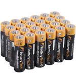 Battery Tech Süper Alkalin AA Kalem Pil 24'lü Paket