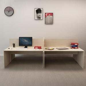 Avansas Comfort Dörtlü Workstation Çalışma Masa Grubu Akçaağaç